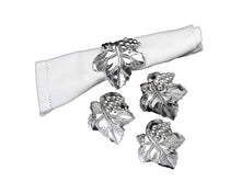 Load image into Gallery viewer, Grape Napkin Rings (Sets of 4) - Edwina Alexis