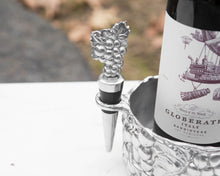 Load image into Gallery viewer, Grape Wine Caddy and Stopper Set - Edwina Alexis