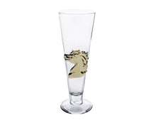 Load image into Gallery viewer, Horse 24K Gold Plated Pilsner Glass - Edwina Alexis