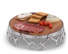 Load image into Gallery viewer, Equestrian Cheese Pedestal - Edwina Alexis