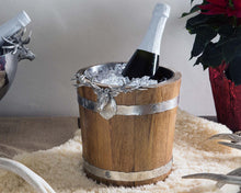 Load image into Gallery viewer, Elk Wood Pail Ice Bucket - Edwina Alexis