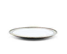 Load image into Gallery viewer, Classic Pewter Rim Salad Plate - Edwina Alexis