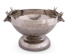 Load image into Gallery viewer, Elk Head Stainless Ice Tub - Edwina Alexis