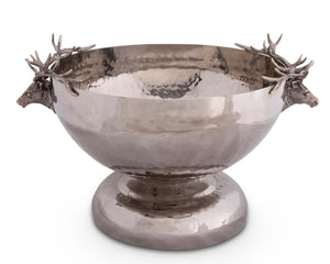 Elk Head Stainless Ice Tub - Edwina Alexis