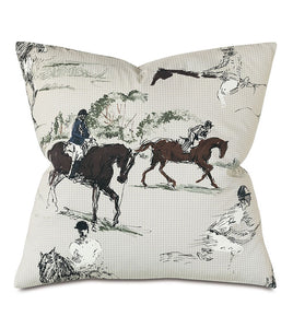 Russel Equestrian Decorative Pillow - Edwina Alexis