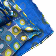 Load image into Gallery viewer, Bauhaus Italian Silk Scarf - Edwina Alexis