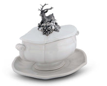 Load image into Gallery viewer, Stag Soup Tureen - Edwina Alexis
