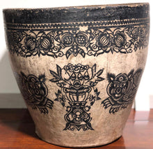Load image into Gallery viewer, Large Paper Mache Chinese Plant Holder Vintage (Tiger) - Edwina Alexis