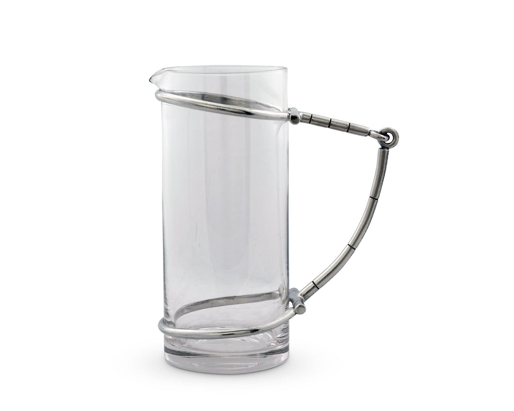 Horse Bit Glass Pitcher - Edwina Alexis