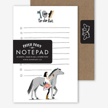 Load image into Gallery viewer, Pretty Pony Notepad - Edwina Alexis