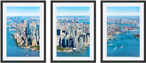 Manhattan Triptych, New York City - Edwina Alexis
