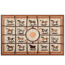 Load image into Gallery viewer, Equestrian Aubusson Area Rug - Edwina Alexis