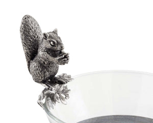 Squirrel Glass Nut Bowl - Edwina Alexis