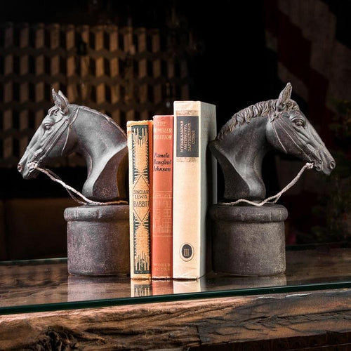 Horse-Head Bookend (Set of 2) - Edwina Alexis