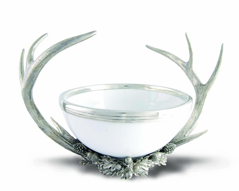 Pewter Antler Center Bowl - Edwina Alexis