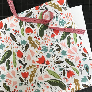 Bloomstra Floral Wrap (Roll of 3 Sheets) - Edwina Alexis