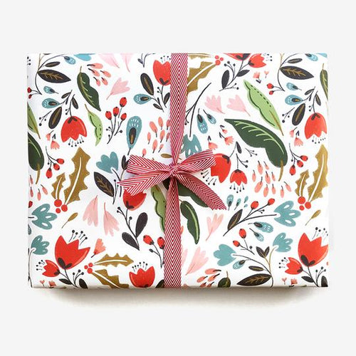 Bloomstra Floral Wrap (Roll of 3 Sheets) - edwina-vidosh