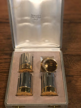 Load image into Gallery viewer, Set of 4 Decorative Bullet Casings by Hermes w/ Original Box - Edwina Alexis