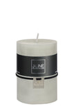 Cylinder Candle Powder Grey - Medium