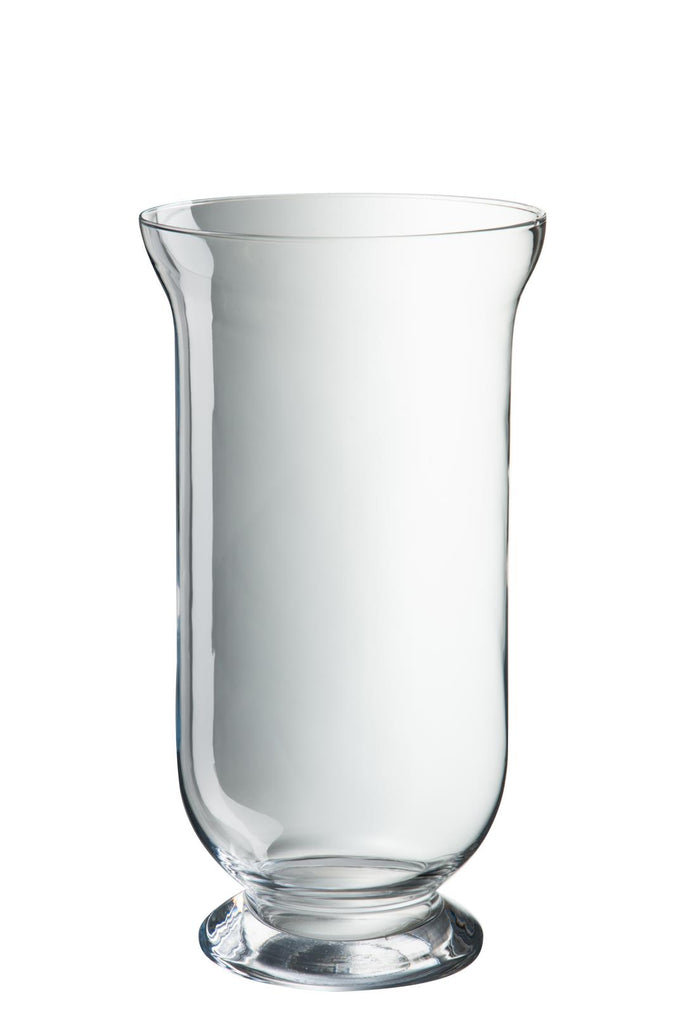 Hurricane Glass Vase - Medium