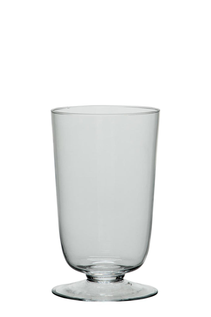 Footed Hurricane Vase