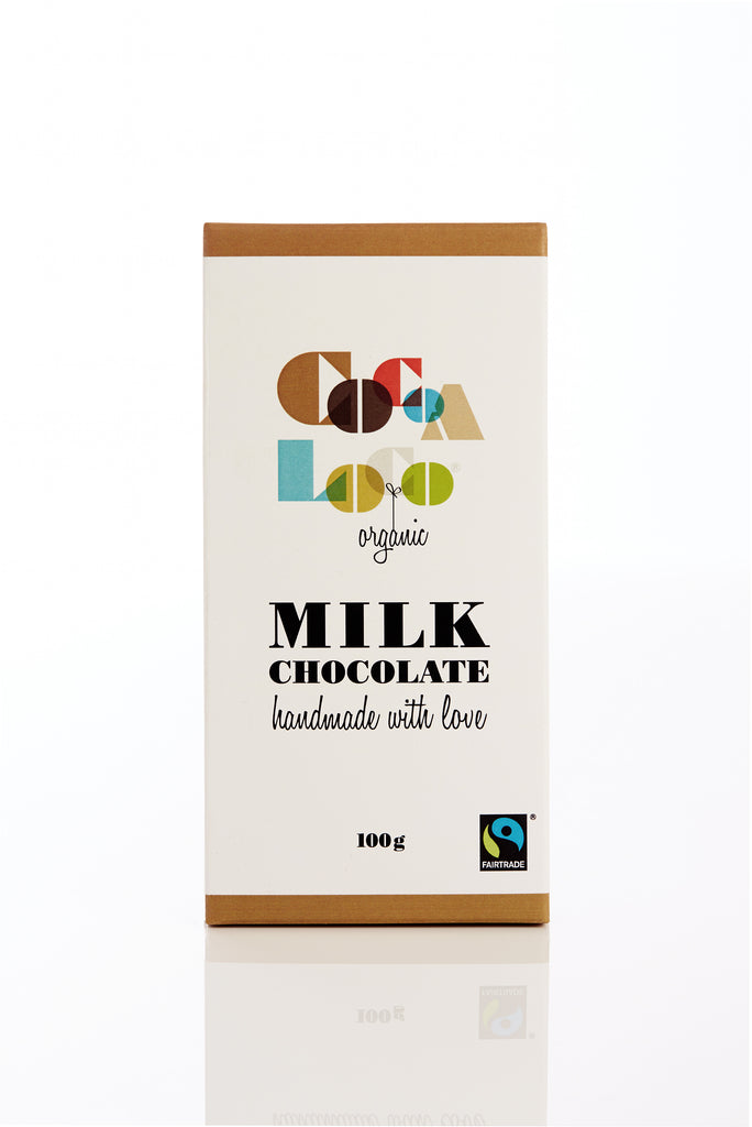 Milk Chocolate 100g bar