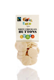 Chocolate Buttons White 100g