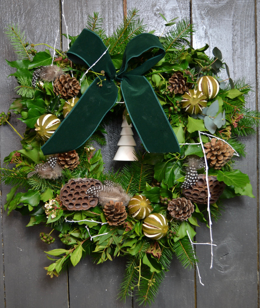 A Partridge in a Pear Tree - Christmas Wreath