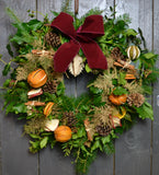 The Holly and the Ivy - Christmas Wreath