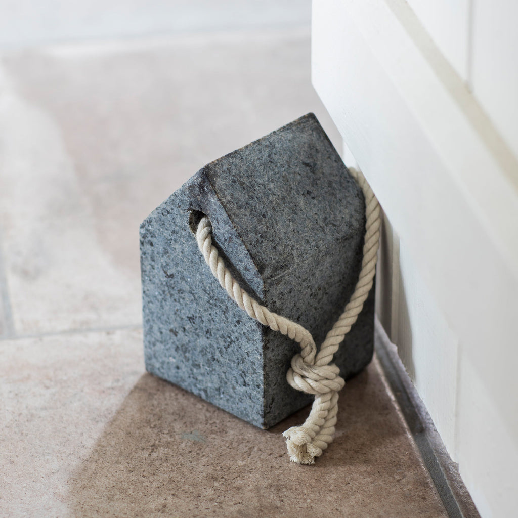 Door Stop in Granite