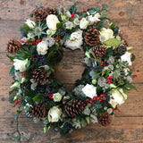 Fresh Festive Wreath