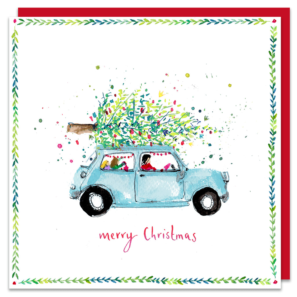 Merry Christmas - Car