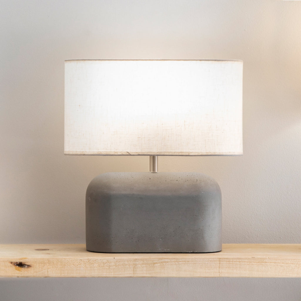 Concrete Millbank Slab Table Lamp