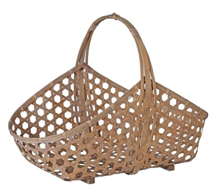 Bamboo flower basket