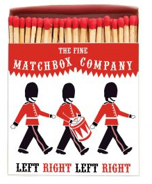 Soldiers Matchbox