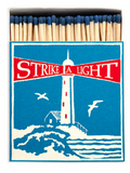 Lighthouse Matchbox