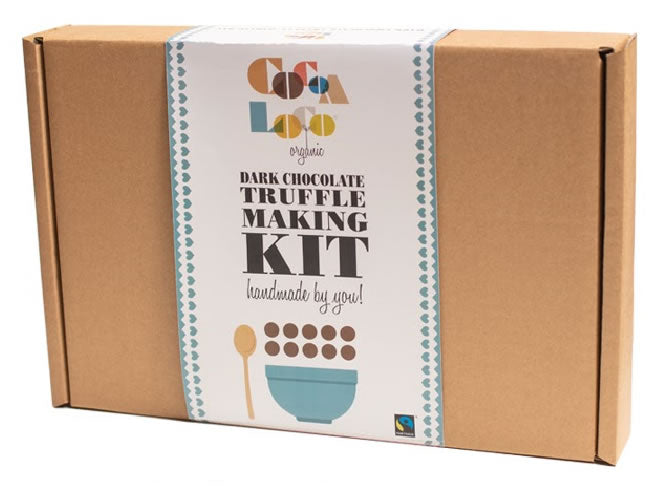 Dark Chocolate Truffle Making Kit