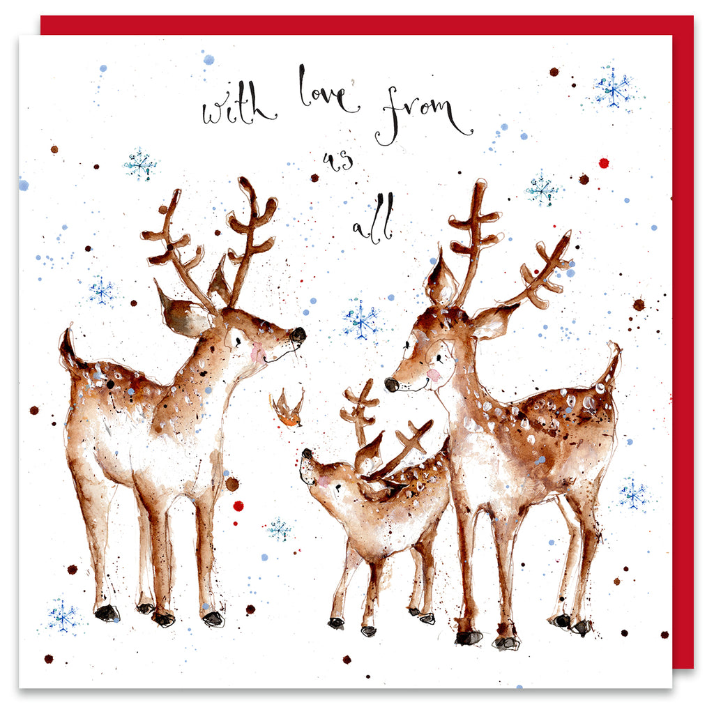With Love From Us All - Reindeer