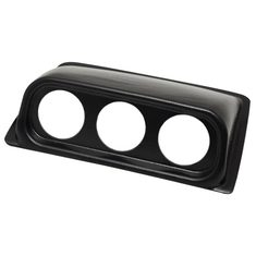 Black Triple Gauge Dashboard Pod for 2005-2007 Volkswagen Golf