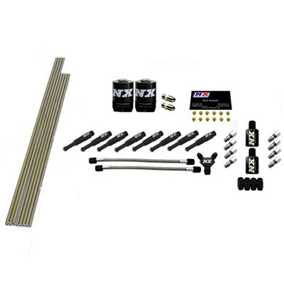 8-CYL 1/8 DRY NOZZLE INTAKE PLUMBING KIT (INCL. ALL NECESSARY HARDWARE)
