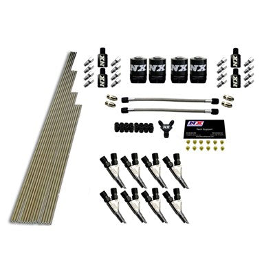 8-CYL STD NOZZLE INTAKE PLUMBING KIT (INCL. ALL NECESSARY HARDWARE)