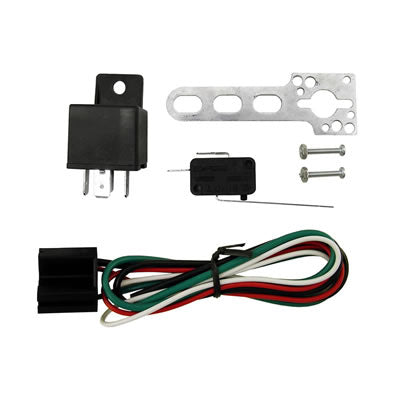 WIDE OPEN THROTTLE SWITCH W/ 40 AMP 4 PIN RELAY AND HARNESS