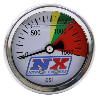 NITROUS PRESSURE GAUGE ONLY (0-1500 PSI)