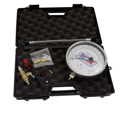 "MASTER FLO-CHECK (5"" Gauge w/ Case, Lines, Fittings, and Jets)"