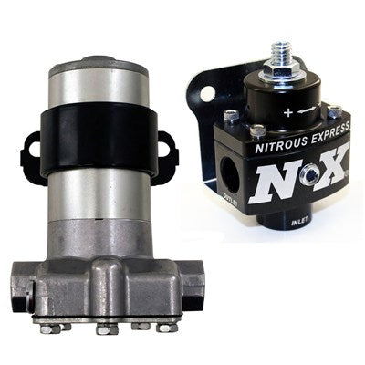 NX BLACK PUMP WITH NX BILLET NON BYPASS REGULATOR