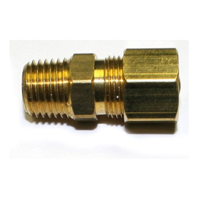 1/4 NPT MALE X 3/8 COMPRESSION STRAIGHT
