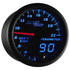 Black & Blue MaxTow 2200° F Exhaust Gas Temperature Gauge