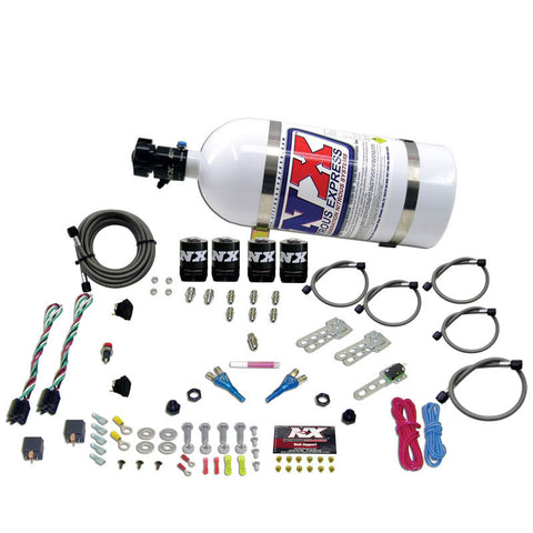 FORD EFI DUAL STAGE (50-75-100-150HP X 2) WITH 10LB BOTTLE