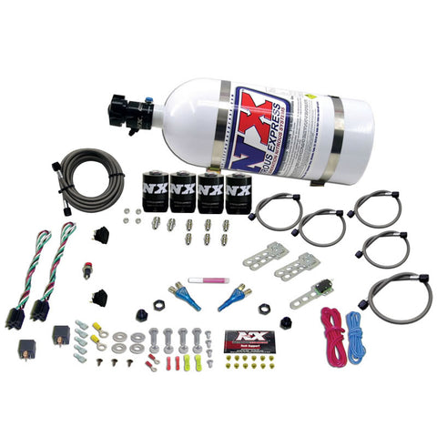 GM EFI DUAL STAGE (50-150HP X 2) WITH 10LB BOTTLE
