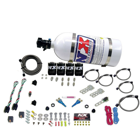 DODGE EFI DUAL STAGE (50-75-100-150HP) X 2 WITH 10LB BOTTLE